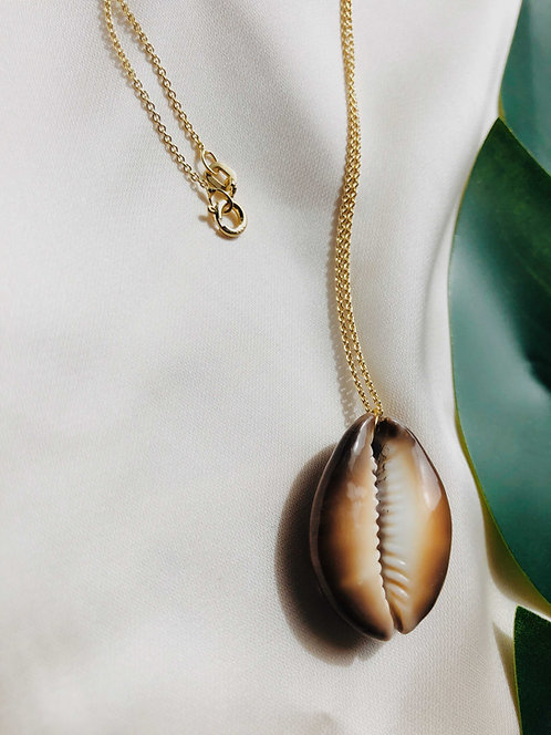 """Pure Cowrie"" Necklace"