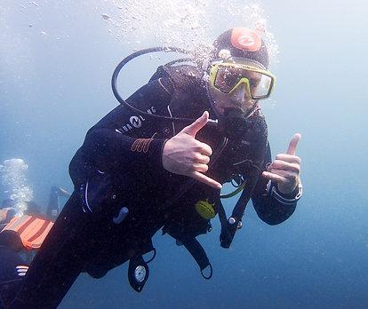 Initiation à la plongée en cours individuel