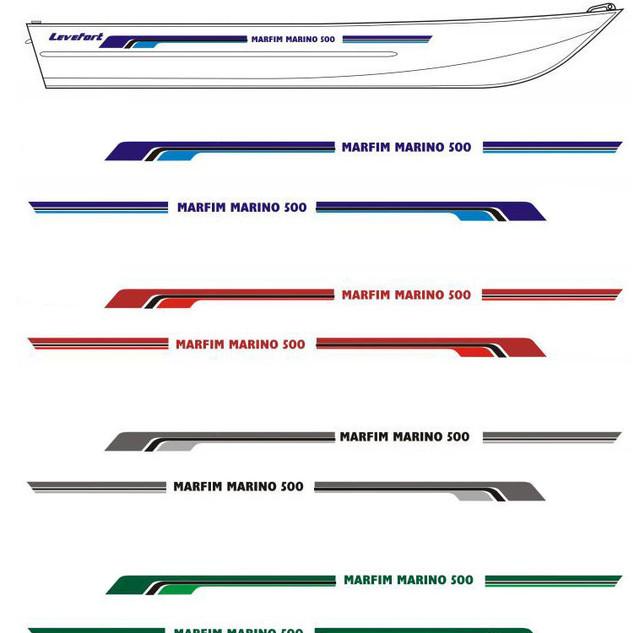 Adesivos para Barcos / Lanchas / Iates