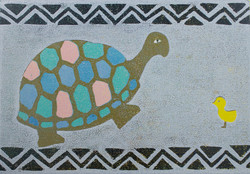 Tortoise and Chick