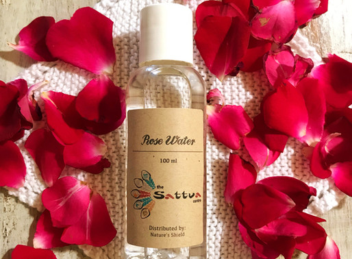 ROSE WATER WASH FOR HEAT AND NAPPY RASH