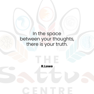 THE SPACE BETWEEN YOUR THOUGHTS