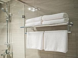 serviettes de l'hôtel