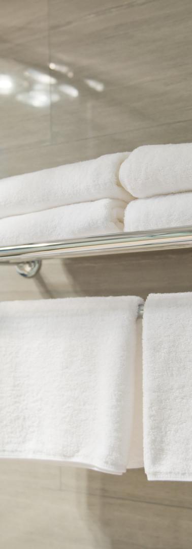 toalhas do hotel