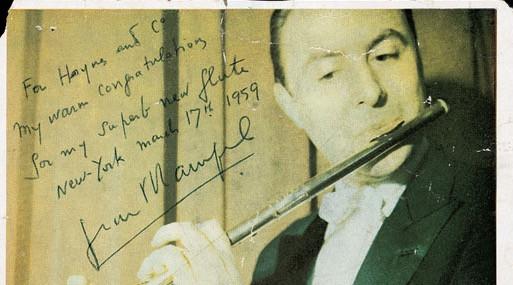 Рампаль в Haynes 1959 год.