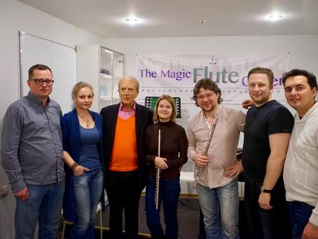 Уильям Беннетт в гостях у Московского Флейтового Центра