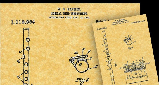 Заявка на патент Haynes 1914 г.