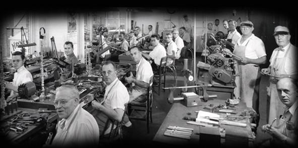 Компания Haynes в 1954 году.