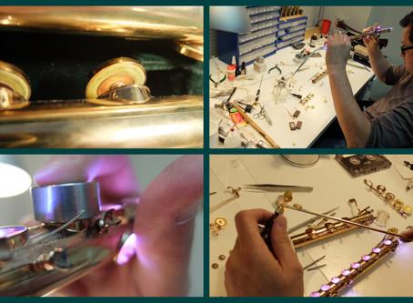 Установка системы Lotus на Muramatsu в Мастерской Флейты Плотникова
