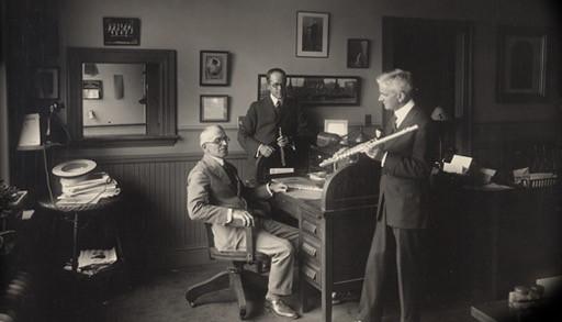 W.S.Haynes и Verne Q. Powell 1913г.