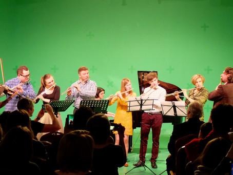Отзывы об открытии                                  Московского Флейтового Центра