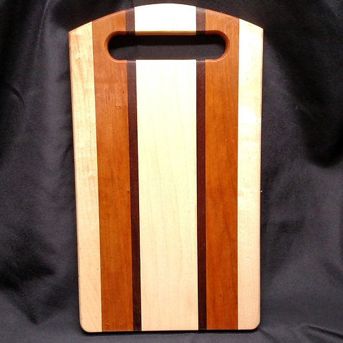 Maple and Cherry Cheese Board with Handle