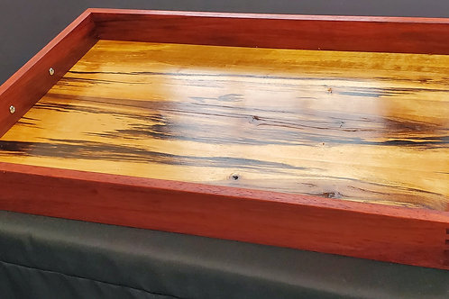 Paduak and Spalted Birch Serving Tray