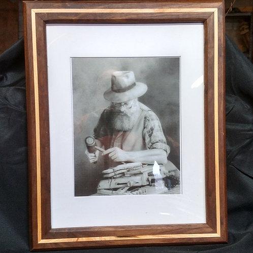 11 X 14 Walnut Picture Frame