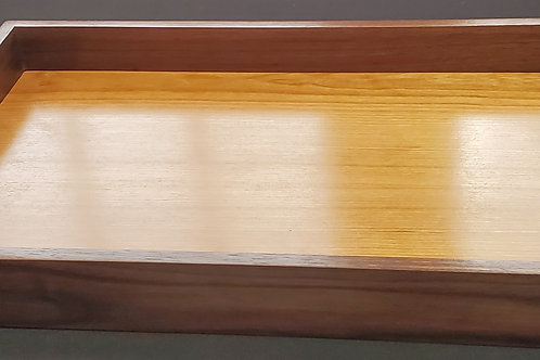 Walnut and Cherry Serving Tray