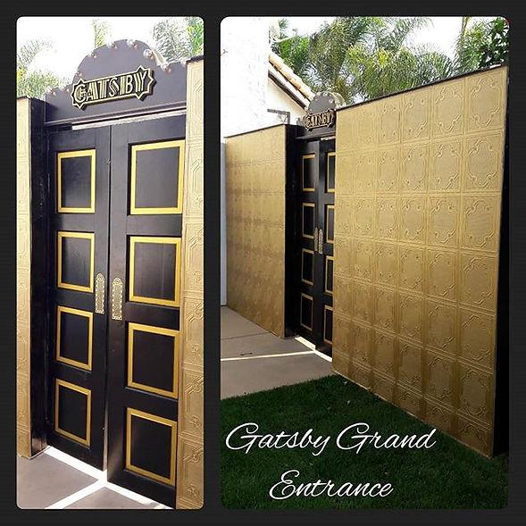 The Gatsby Grand Entrance was a Custom b