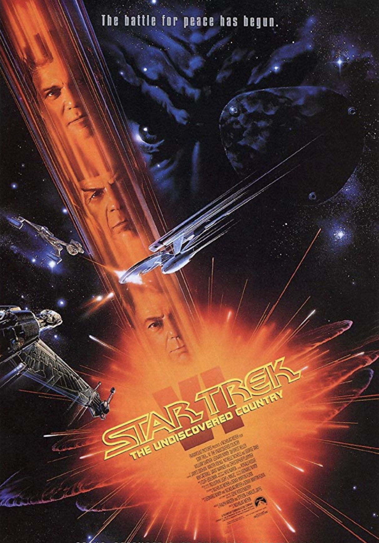 1991 Star Trek Vl The Undiscoverd Countr