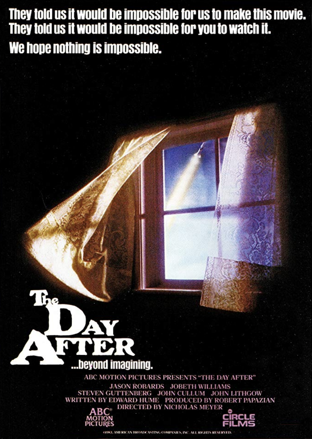1983 The Day After, director