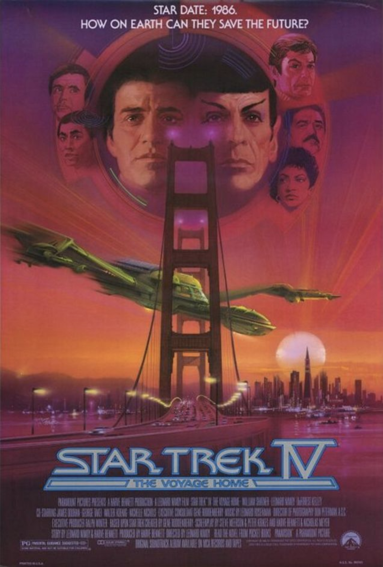 1986 Star Trek lV The Voyage Home writer