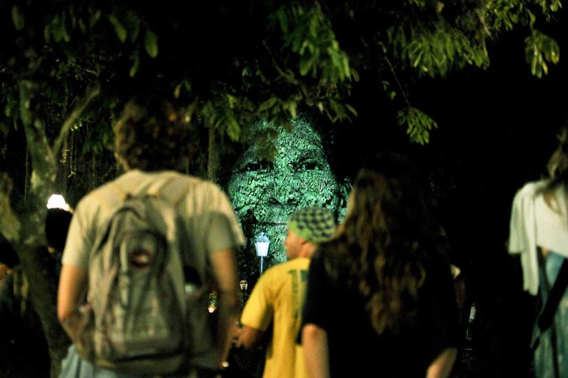 """Instalação """"Symbiosis"""", Festival Paraty em Foco, 2012"""