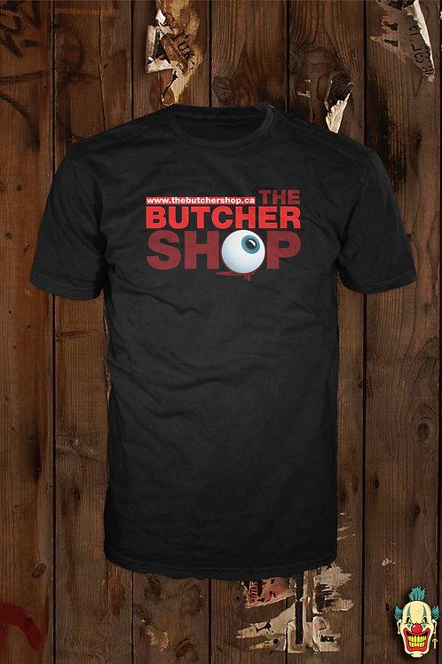 THE BUTCHER SHOP LOGO T (BLK)