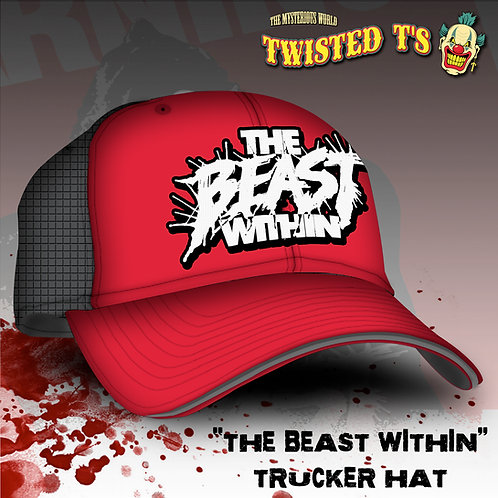 THE BEAST WITHIN (Classic Trucker Snapback Cap)