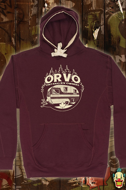 ORVO Canada - Unisex Burgundy Hoodie
