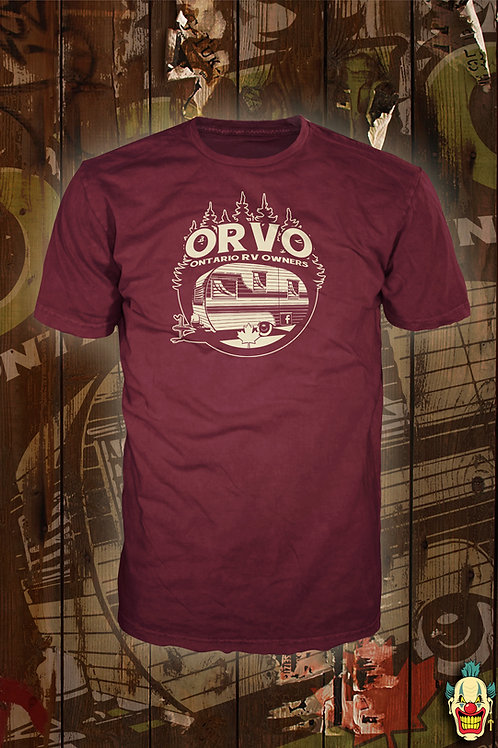 ORVO Canada - Unisex Burgundy shirt