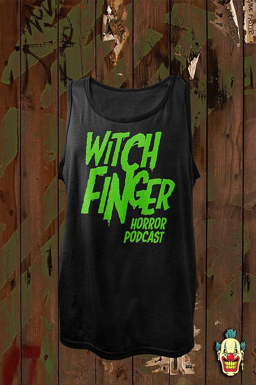 WITCH FINGER LOGO GREEN (UNISEX TANK)