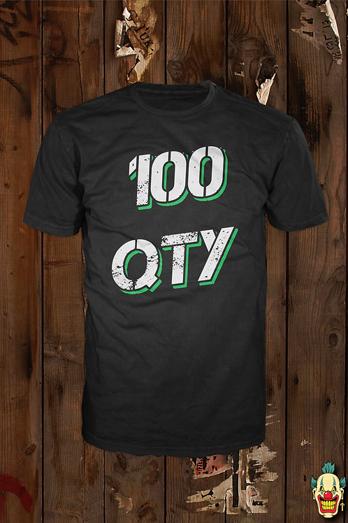 T-shirts with Printing for 100pcs