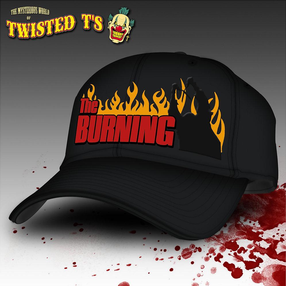 64a7ffb14 The Burning (Classic Trucker Snapback Cap)
