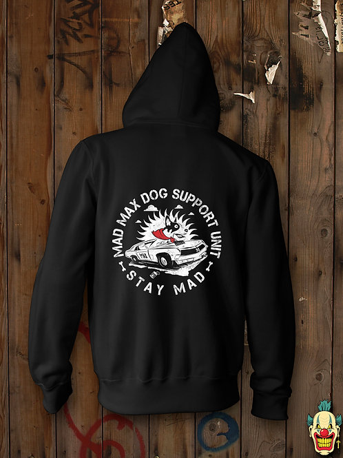MAD MAX DOG SUPPORT UNIT (ZIP UP HOODIE)