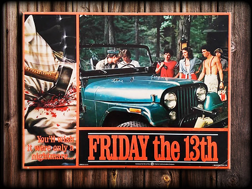 FRIDAY THE 13th canvas (Arrival)