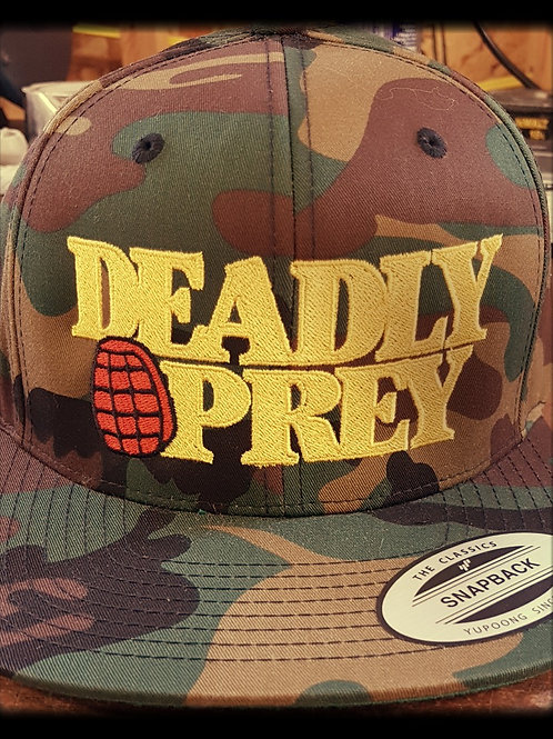 DEADLY PREY (Camo) SnapBack Cap