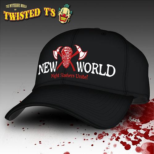 NIGHT SLASHERS NEW WORLD (Snapback Cap)