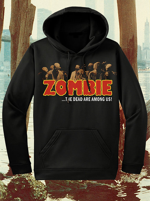 ZOMBIE Pullover with Embroidered Logo