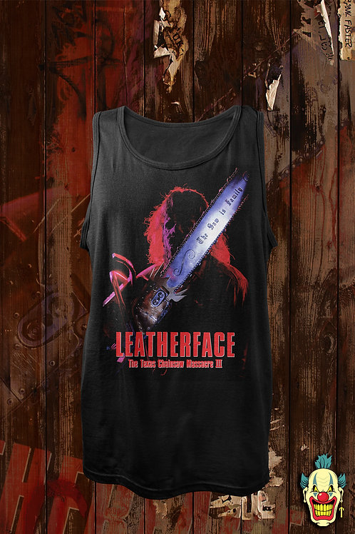 LEATHERFACE 3  (TANK TOP)