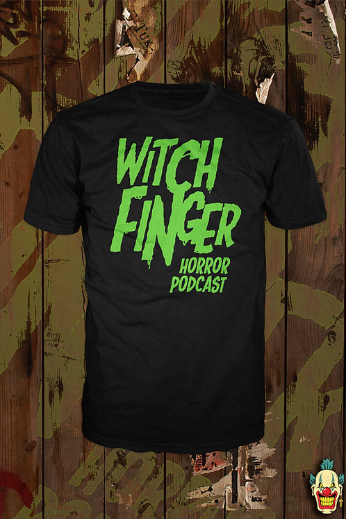 WITCH FINGER LOGO (GREEN MENS)