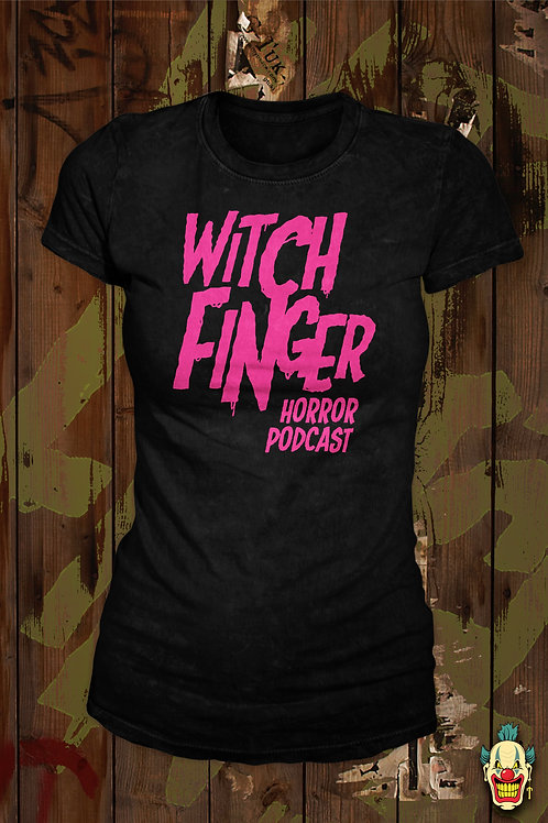 WITCH FINGER LOGO (PINK LADIES)