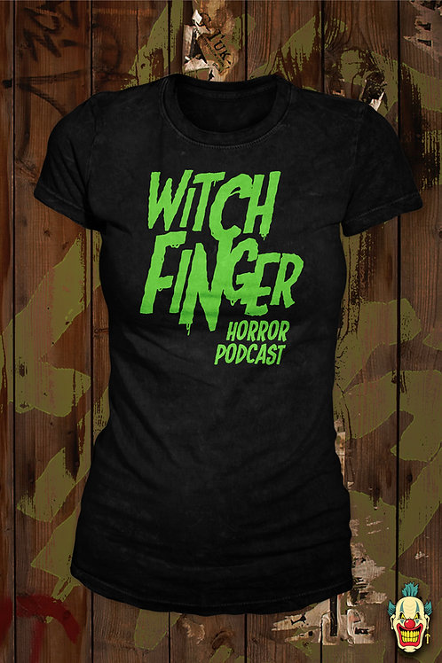 WITCH FINGER LOGO (GREEN LADIES)