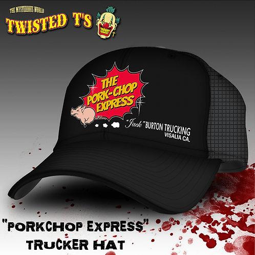 The Pork Chop Express  (Classic Trucker Snapback Cap)
