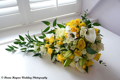 wedding bouquet photographed by DH Weddings