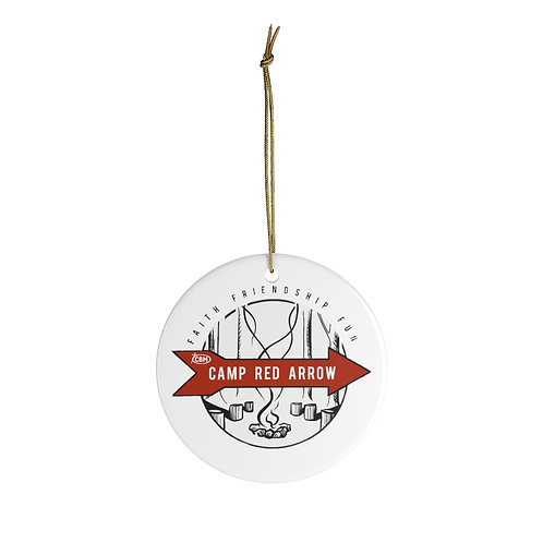 Camp Red Arrow Ornament