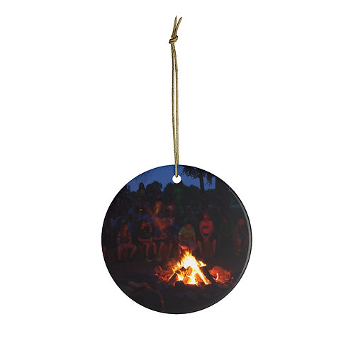 Firepit Christmas Ornament
