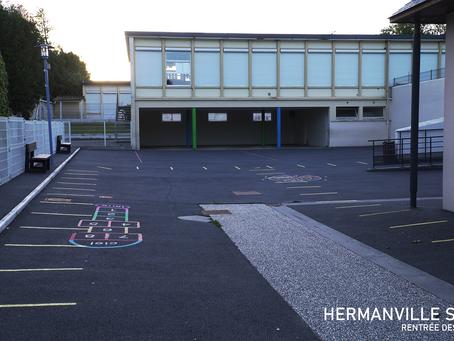 Rentrée scolaire 2020 à Hermanville sur Mer