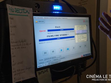 Projection de nos productions au Cinéma Le Trianon