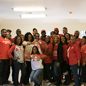 SWH Kappa and Huntsville Delta Day of Service