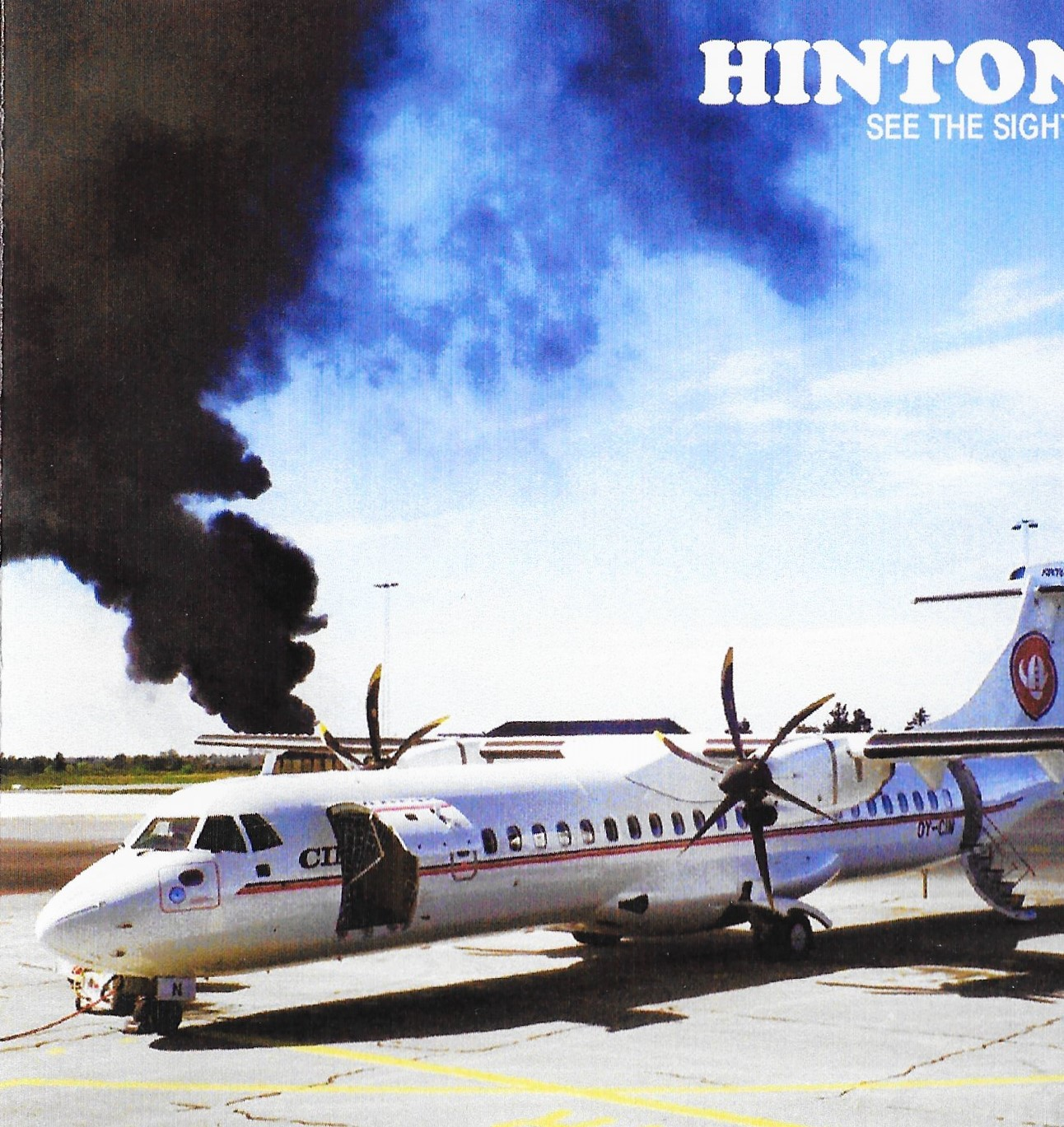 HINTON See The Sights CD Front Cover