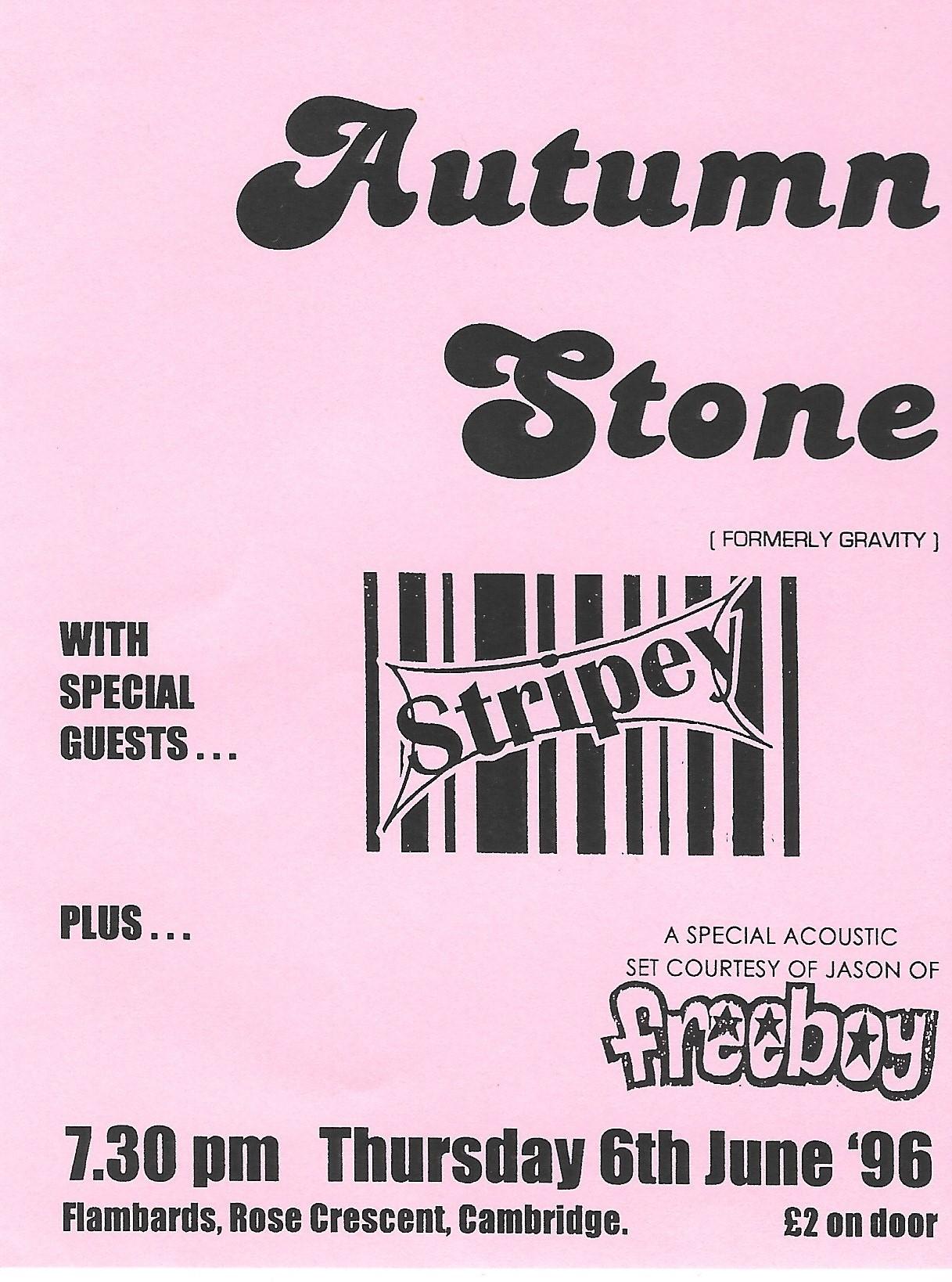 Autumn Stone Poster 1