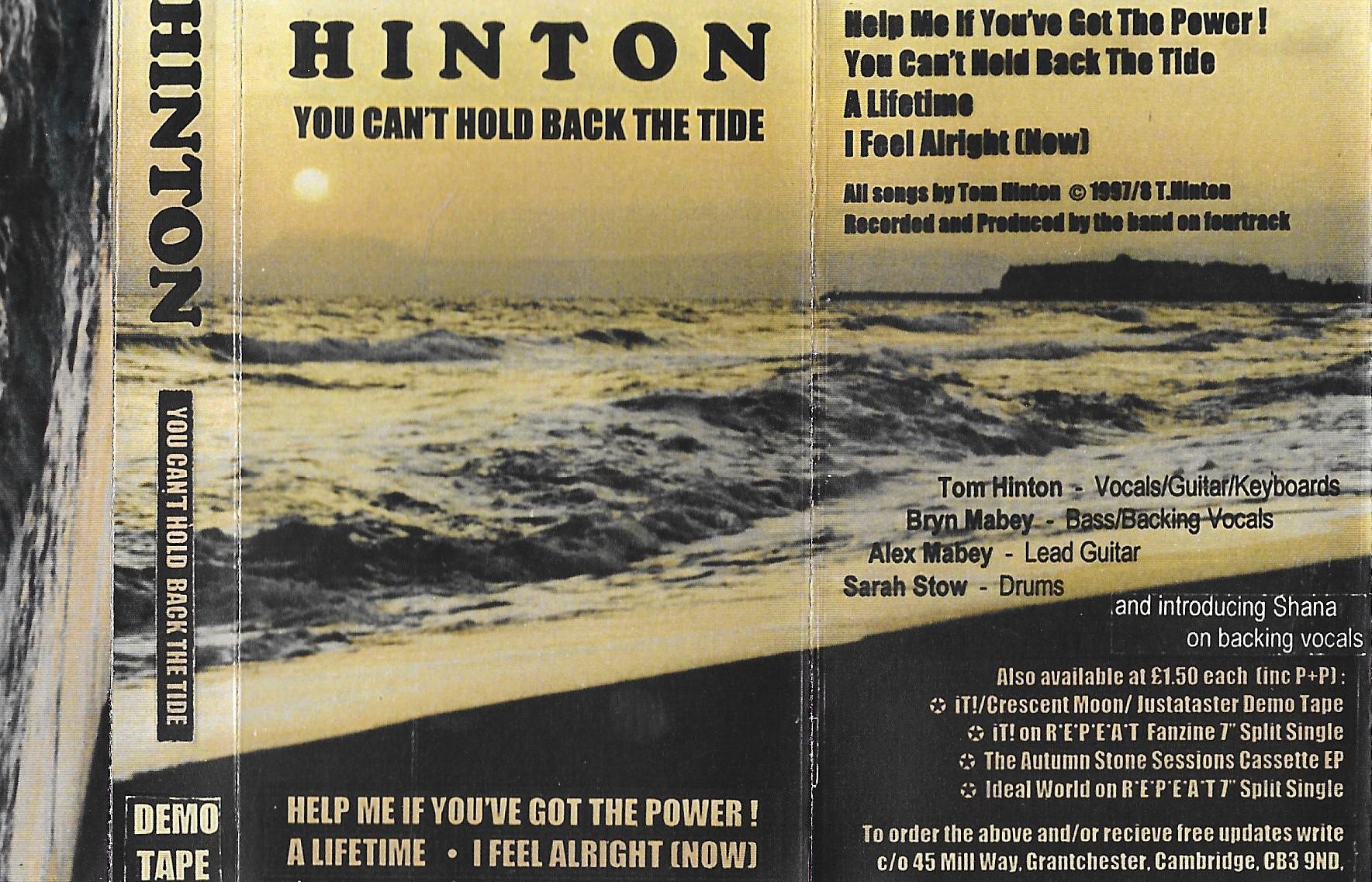 HINTON Tide EP Sleeve
